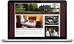 Link to Inch House Country HOtel website