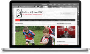 Link to Ballina Killaloe rugby club website