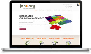 Link to January Online Marketing website